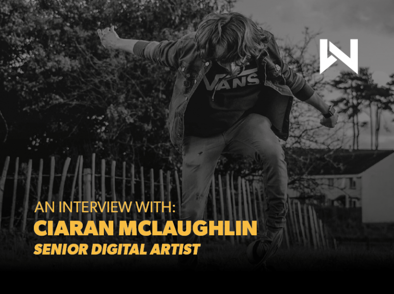 An Interview with Senior Digital Artist Ciaran
