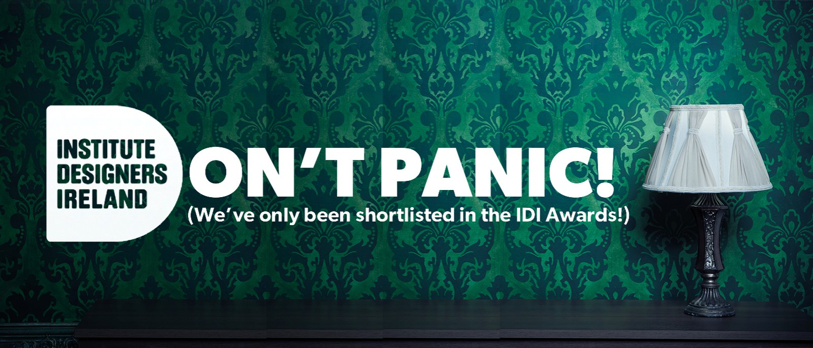 DON'T PANIC! We're on the shortlist...