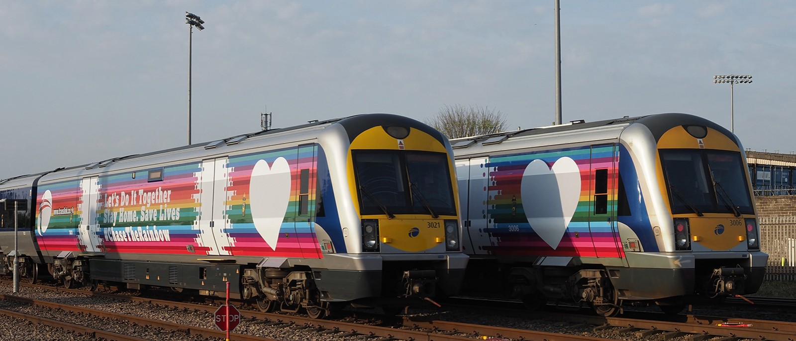 Translink's Trainbows are go...