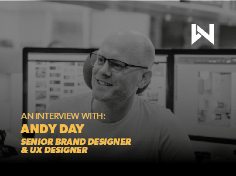 An Interview with Andy, our Senior Designer and Website UX Specialist