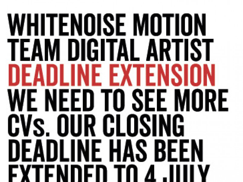 Digital Artist wanted - POSITION NOW CLOSED thumbnail
