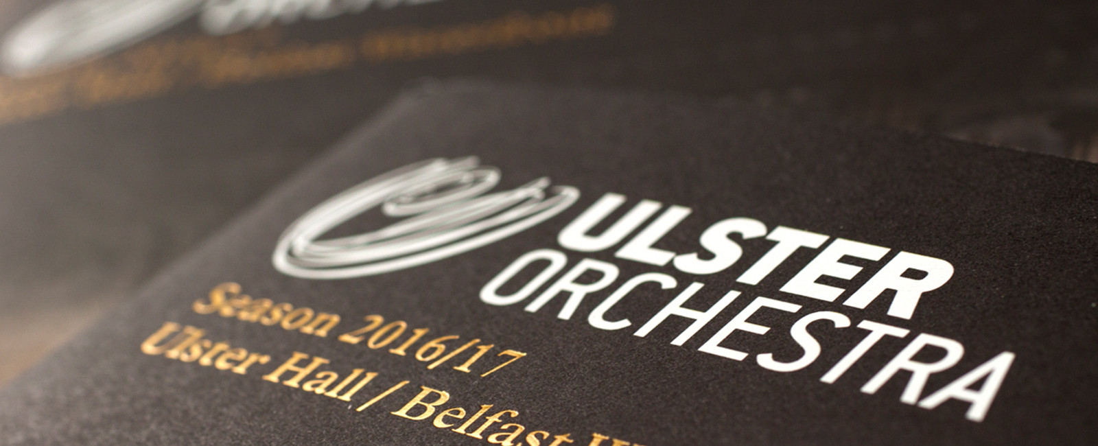 Ulster Orchestra: season programmes / advertising